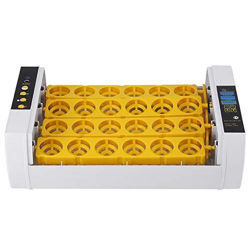 Victool Incubateur d'oeufs, 24 Oeufs Incubateur contrôle de température Automatique numérique de Poulet Poussin éclosoir