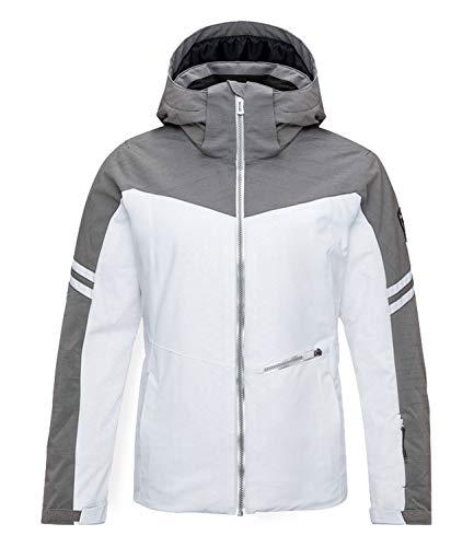 Rossignol Damen Skijacke Winterjacke Controle Jacket RLHWJ29, Farbe:Weiß, Größe:XL, Artikel:-100 White
