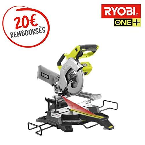 Ryobi Kapp-Gehrungssäge 18 V One Plus – ohne Akku und Ladegerät R18MS216-0