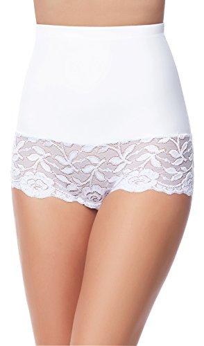 Merry Style Braga Faja Reductora Moldeadora Invisible Mujer MS10-134 (Blanco, S)