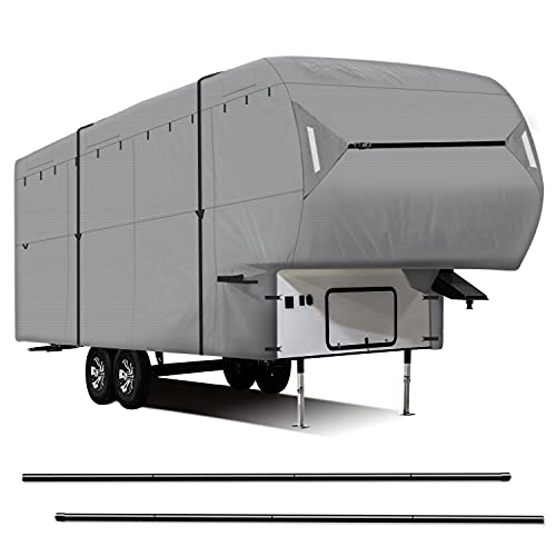 Leader Accessories New Easy Setup 5th Wheel RV Cover