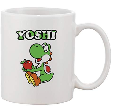 Tasse mit Aufdruck - Modell Yoshi - Kaffeetasse Becher Teetasse Kaffeebecher