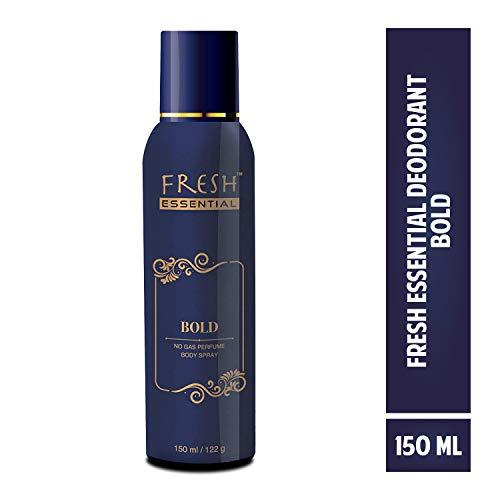 Fresh Essential No Gas Deodorant - Bold, 150 ml 1