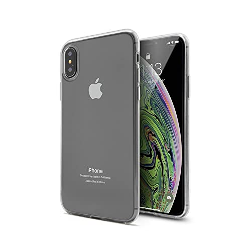 Funda iPhone x/XS, Funda iPhone XS, Funda Transparente, Funda Resistente a caidas