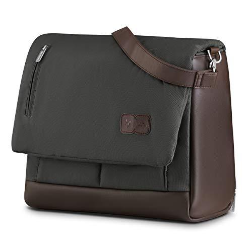 ABC Design Wickeltasche Urban Diamond Edition - Crossbody Bag mit Baby Zubehör – Messenger Bag - großes Hauptfach - breiten Schultergurt - Polyester - Farbe: dolphin