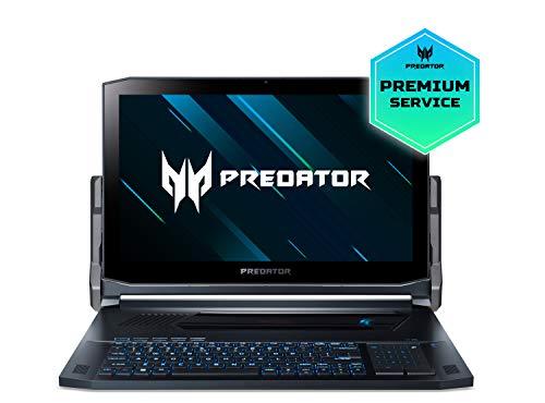 "Acer Predator Triton 900 | PT917-71-76UN - Ordenador de 17"" UHD 4K IPS LCD (Intel Core i7-9750H, 16GB RAM, 256GB+256GB SSD - Raid, RTX 2080, Windows 10 Home) Negro - Teclado QWERY Español"