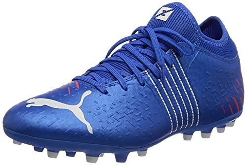 Puma Future Z 4.2 MG, Zapatillas de fútbol Hombre, Bluemazing-Sunblaze, 43 EU