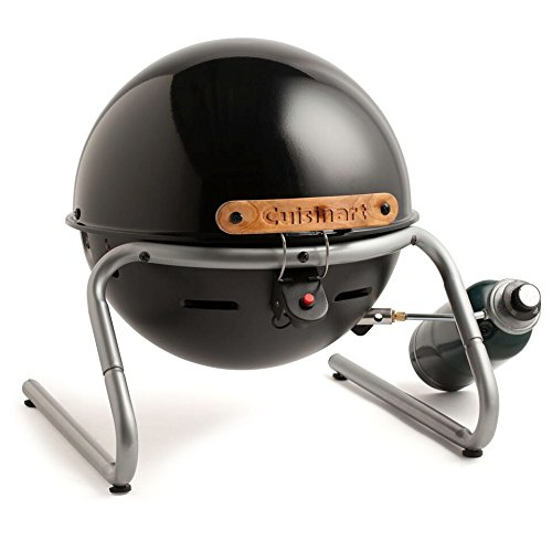 Cuisinart CGG-049 Searin' Sphere 10,000 BTU Portable Gas Grill,Black
