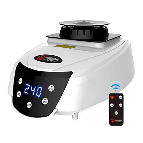 GFYWZ Sèche-Linge Portable électrique à l'intérieur de l'appareil de Chauffage, sèche-Linge avec système de Purification par ions négatifs, minuterie Automatique numérique 240 Min,1300w