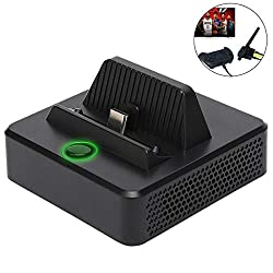 professional KINVOCA docking station, portable charging stand, compact HDMI-HDMI adapter, switch …