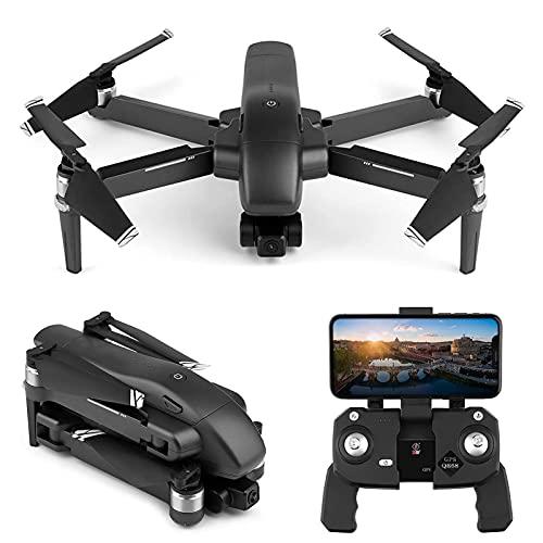 J-Clock Drone Profesional con 2 Ejes Gimbal 4K Cámara GPS 5G WiFi FPV Drones 30min Tiempo Vuelo Sin escobillas RC Quadcopter Plegable Mini Drone