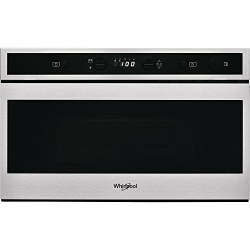 Micro ondes Encastrable Whirlpool W6MN810 - Micro-Ondes Intégrable Inox et noir - 22 litres - 750 W