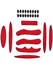 MMSSWaroom 27 Stks/set Helm Padding Kit Fiets Vervanging Universele Foam Pads Set Universele Airsoft Helm EVA Pads voor Bike Motorfiets Fietshelm Fietshelm accessoires