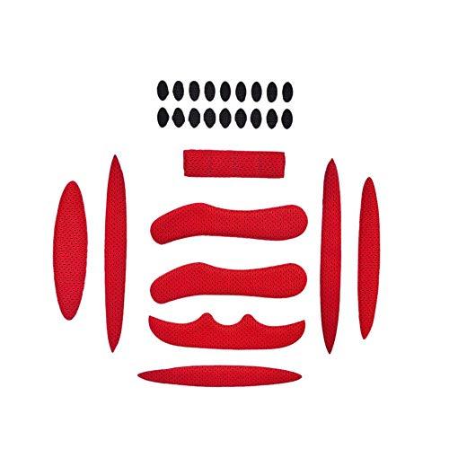 MMSSWaroom 27 Stück/Set Helm Polsterset Fahrrad Ersatz Universal Schaumstoff Pads Set Universal Airsoft Helm EVA Pads für Fahrrad Motorrad Fahrradhelm Radhelm Zubehör