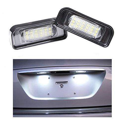 GOFORJUMP 2 pcs/Set Replacememt 6000k Xenon 18 SMD Led lámpara/luz de la Placa de la Licencia para B/ENZ W220 99-05 S-Class