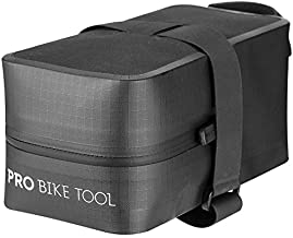 PRO BIKE TOOL Bicycle Saddle Bag - Strap-On Under Seat Cycling Bag for Road or Mountain Bikes - Medium Size