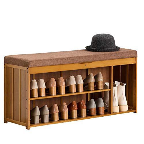 HENDA Taburete para Cambiar Zapatos, Espacio de Almacenamiento Oculto 4 Especificaciones utilizadas para la Entrada del Pasillo del Dormitorio de la Sala de Estar 48 * 30 * 100 cm