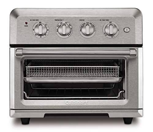 Cuisinart CTOA-122 TOA-60 Convection Toaster Oven Airfryer, Stainless Steel