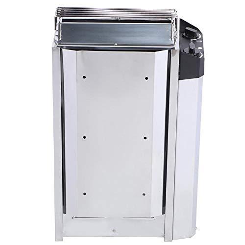 AMONIDA Herramienta de calefacción Sauna Calentador Control Interno 16.1 X 11 X 22.4 In para salón de Belleza para Sala de Sauna