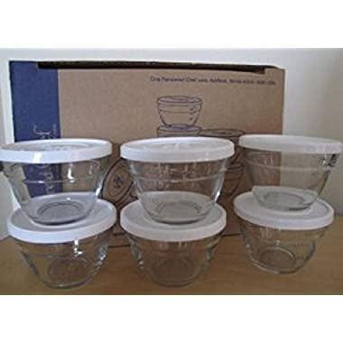 Pampered Chef 1 Cup Prep Bowl Set