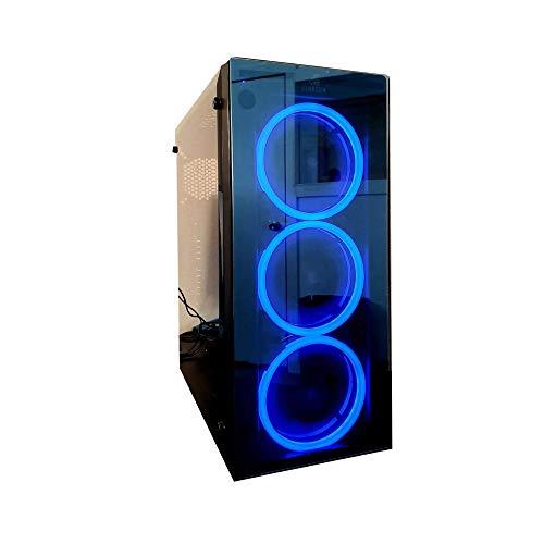 Nova Starcom Gaming Caja de Ordenador Gaming (ATX,Micro ATX, Incluye alimentador...