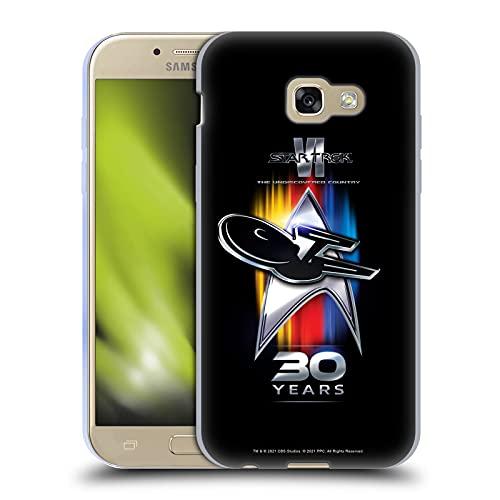 Head Case Designs Licenza Ufficiale Star Trek 30esimo Anniversario Le Pays inconnu Cover in Morbido Gel Compatibile con Samsung Galaxy A5 (2017)