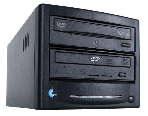 EZ Dupe 1 Copy DVD/CD Duplicator GS1SAMB (Black)