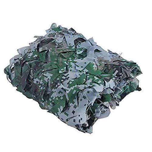 JXXDDQ Filet de Camouflage, auvents de Protection Solaire du Soleil Mesh Net Tente de Tissu Oxford, for Jardin Parasol Décor Plage pêche Panier Protection des Plantes Vie privée Camping Chasse cachée