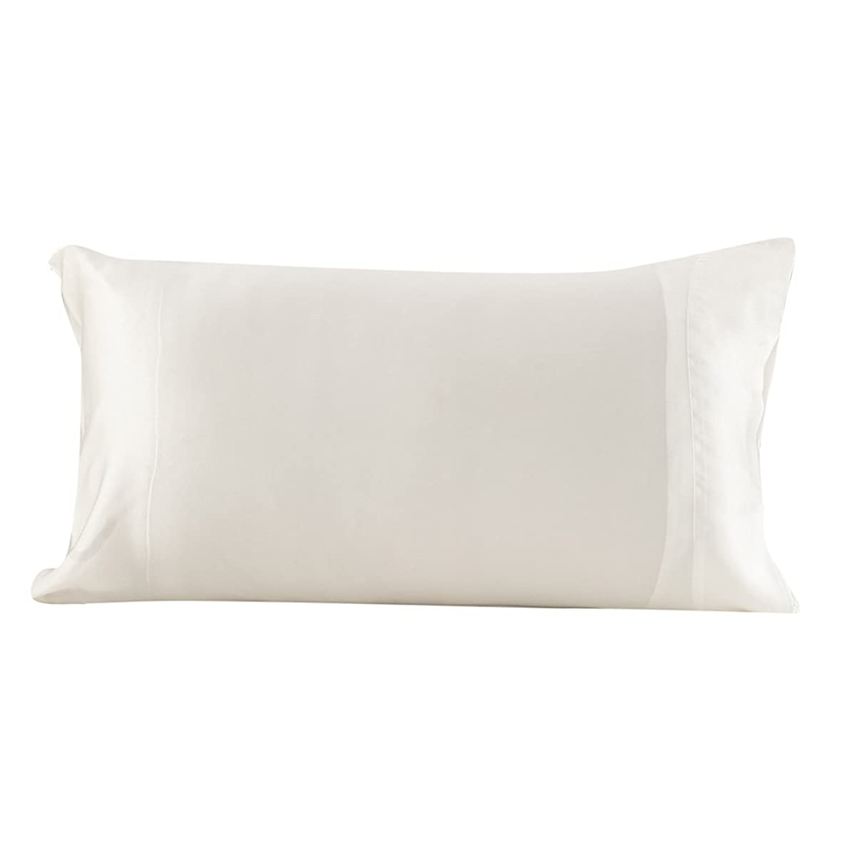 LilySilk UK1016-01-5075 100% Mulberry Silk Pillowcase Terse 22 Momme Queen 20