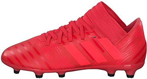 adidas Unisex Kinder Nemeziz 17.3 FG JR CP9166 Fußballschuhe, Rot (Reacor/Redzes/Cblack Reacor/Redzes/Cblack), 35 EU