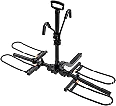 Hyperax 2 E Bike Hitch Mounted Bike Rack Carrier for 2-inch Receivers - Fits Up to 2 X 70 lbs MTBs, e MTBs, EBikes, Road Bikes with Up to 5-inch Fat Tires-Compatible with SUV, Trucks, Sedan
