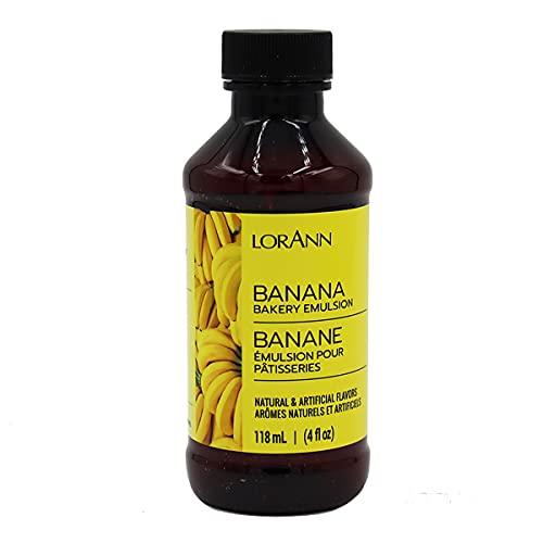 LorAnn Banana Bakery Emulsion, 4 ounce bottle