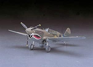 Hasegawa 1/48 Scale US P-40E Warhawk Fighter Aircraft Plastic Model Building Kit # 09086