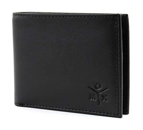 oxmox Leather Pocket-Geldbörse Leder 10,5 cm