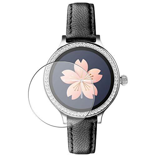 Vaxson 3 Stück Schutzfolie, kompatibel mit M8 Smartwatch smart watch, Displayschutzfolie Bildschirmschutz Blasenfreies TPU Folie [nicht Panzerglas]