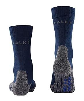 FALKE TK2 Cool W So Chaussettes de randonnée Femme, Bleu (Marine 6120), 39-40 (UK 5.5-6.5 ? US 8-9)