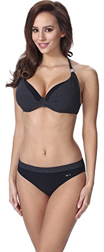 Feba Damen Push Up Bikini F11A (Muster-345, Cup 70C / Unterteil 36)