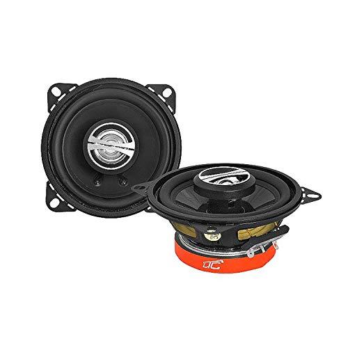 LTC GT100 Zweiweg Autolautsprecher Lautsprecher für Auto KFZ Car-Audio-System 2-Weg (90W 4