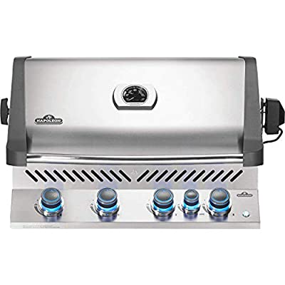 Napoleon BIP500RBNSS-3 Built-in Prestige 500 RB Gas Grill Head, Stainless Steel