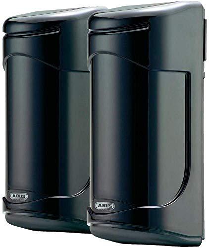 ABUS LS2030 Barre lumineuse infrarouge double, Noir, (B x H x T) 74 x 173 x 72 mm