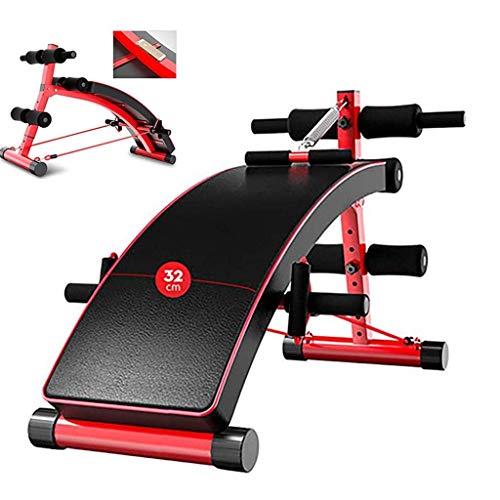 KMILE Banco de pesas para ejercicios de ejercicio con mancuernas, banco de pesas suino, banco de pesas multiusos, banco de peso ajustable, banco de gimnasio plegable para sentarse