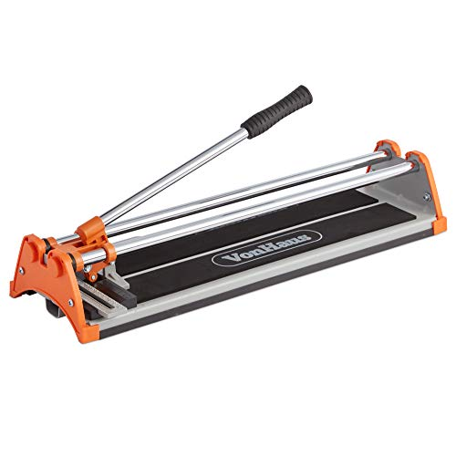 VonHaus Manual Tile Cutter 430mm – Tungsten Carbide Scoring Wheel –...