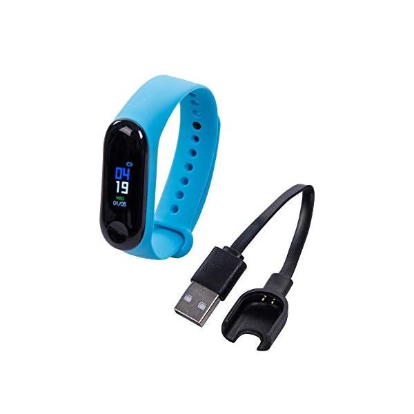 Greetuny 1X Pulsera Actividad Unisex IP65 Impermeable Moda Reloj Inteligente Fitness Tracker, Contador de Calorías… 1
