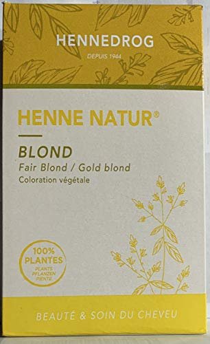 Hennedrog - Coloration Henné blond