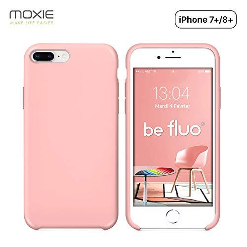 MOXIE - Carcasa para iPhone 7 Plus/8 Plus [BeFluo], Compatible con Apple iPhone 8 Plus Apple iPhone 7 Plus Recharge Sans Fil Chargeur Sans Fil Chargeur à Induction