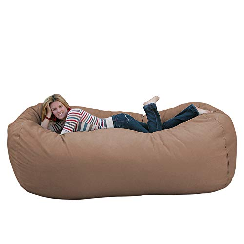 Cozy Sack 8-Feet Bean Bag Chair, X-Large, Buckskin