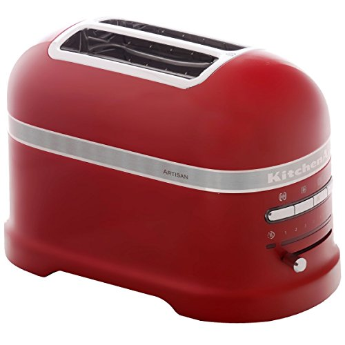 KitchenAid 5KMT2204EER - Tostadora, 1250 W, color rojo