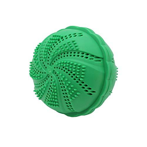 Ghair2 Magic bola de lavado, Eco Magic Lavadora de lavandería limpia y suaviza la ropa – 1000 lavados, Verde, Tamaño libre