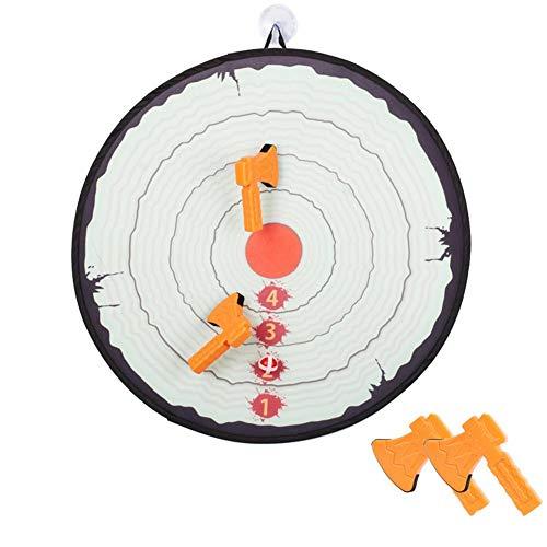 Kinder Dartscheibe Kinderspiel Dart Board Wurfspiel Dartscheibe Wurfscheibe Dartscheibe Set Schaumaxt Wurfspiel Sicher Zu Spielen Fähigkeit Kultivierungsspielzeug Für Kinder Indoor Outdoor