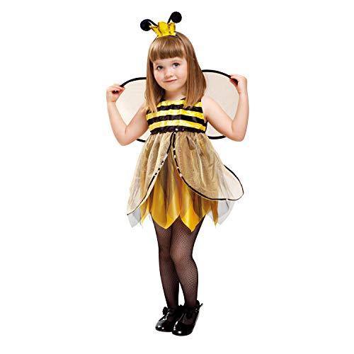 My Other Me Me-201311 Insectos Disfraz de abeja hada para niña, 3-4 años (Viving Costumes 201311)